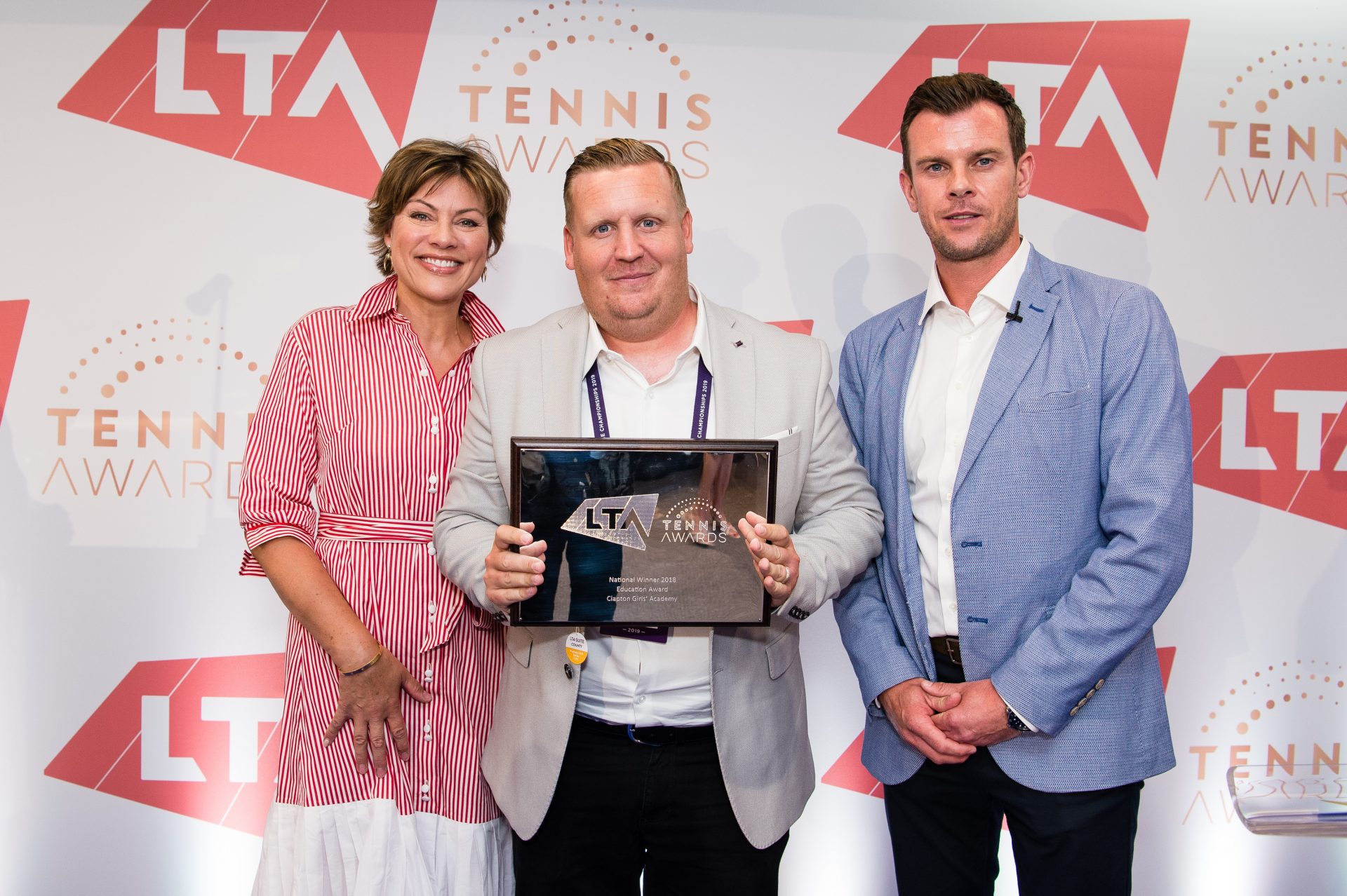 Jamie Faint wins LTA Education Award of the Year
