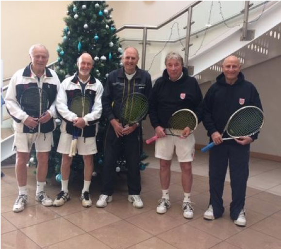 Essex O75 Men are National Champions