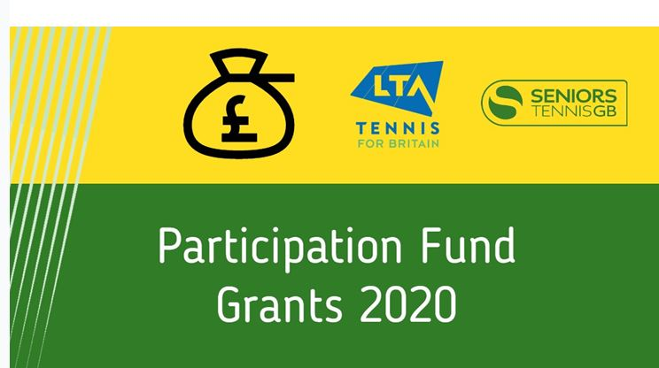 Seniors Tennis GB Participation Grants