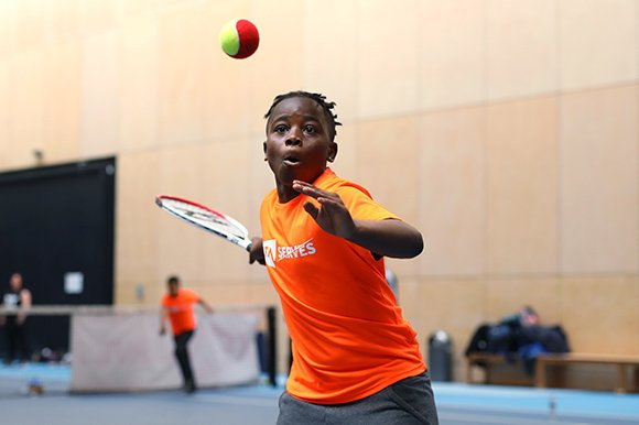 Find out how to get started with adult and junior tennis and coaching tips to improve your game.