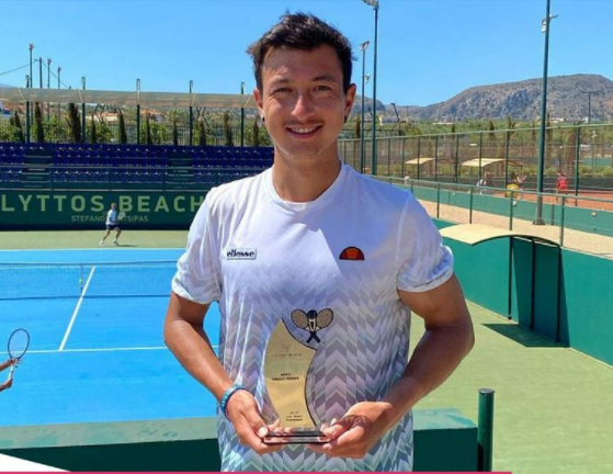 Essex Player Ryan Peniston and Mark Whitehouse out on top in strong week for the Brits at the M15 Heraklion