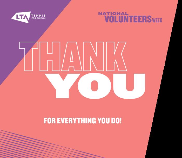 National Volunteers Week – Thank you from Essex Tennis
