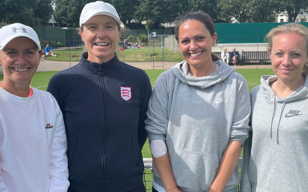 Essex O'35 Ladies remain in Division 2 in the LTA County Cup